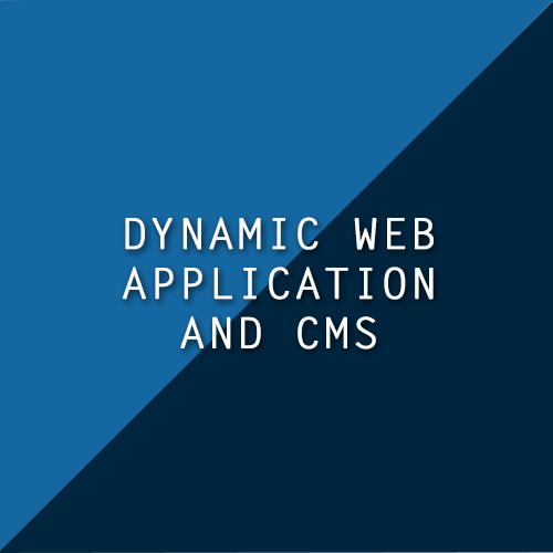 Dynamic Web Application and CMS